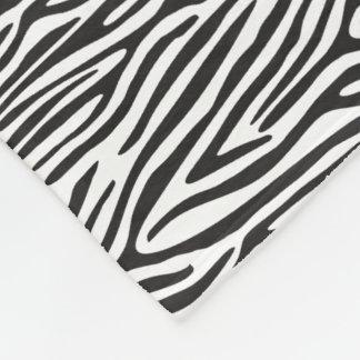 Cobertor De Velo Cobertura preto e branco do velo do impressão da