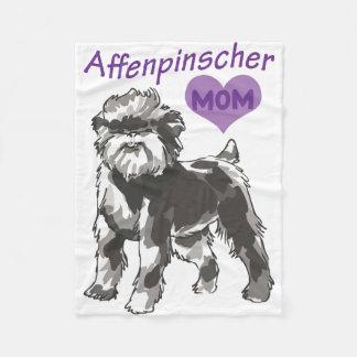 Cobertor De Velo Coberturas da mamã do Affenpinscher