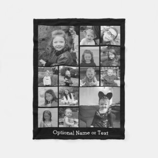 Cobertor De Velo Colagem da foto de Instagram - até 14 fotos