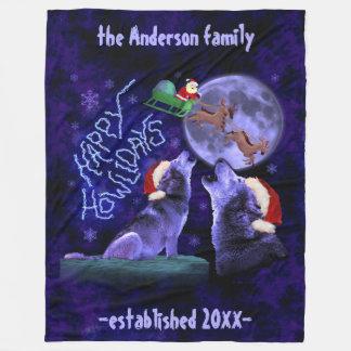 Cobertor De Velo Costume feliz de Howlidays | da chalaça engraçada
