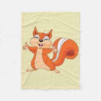 Cobertor De Velo Efervescente o esquilo brincalhão