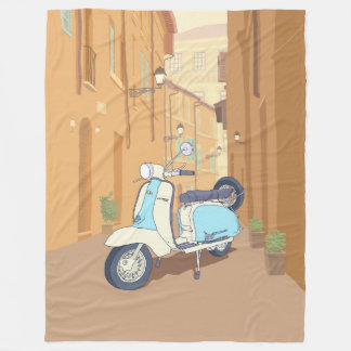 Cobertor De Velo estacionado na rua italiana
