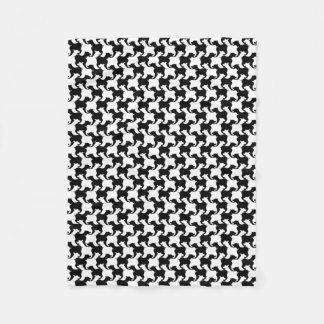 Cobertor De Velo Falso pied-de-poule com a cobertura 1 da forma dos