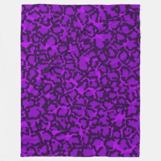 Cobertor De Velo Gato roxo