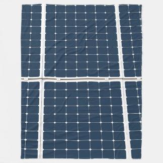 Cobertor De Velo Imagem de um painel de energias solares engraçado