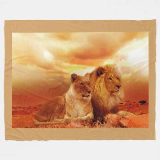 Cobertor De Velo Leões
