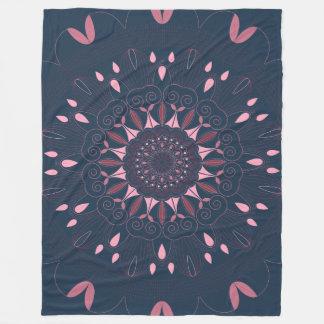 Cobertor De Velo O marinho ornamentado da mandala de Boho e