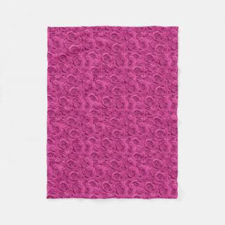 Cobertor De Velo O rosa telhou rosas