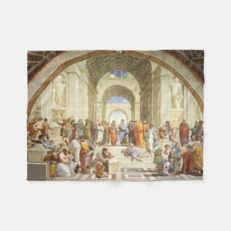 Cobertor De Velo Raphael - A escola de Atenas 1511
