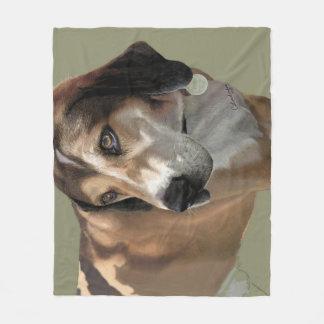 Cobertor De Velo Retrato geral do cão do velo