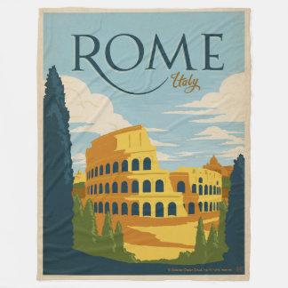 Cobertor De Velo Roma, Italia Colosseum