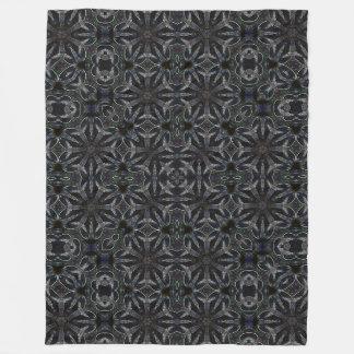 Cobertor De Velo Teste padrão celta escuro decorativo da arte do
