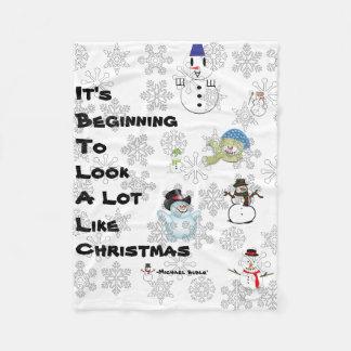 Cobertor De Velo Um Natal lírico