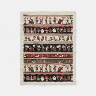 Cobertor De Velo Uma cobertura do velo do Natal do Natal da arte