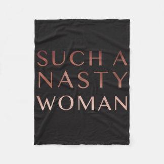 Cobertor De Velo Uma mulher tão desagradável