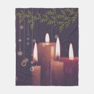 Cobertor De Velo velas do Natal