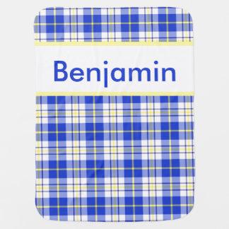 Cobertor Para Bebe A cobertura personalizada de Benjamin
