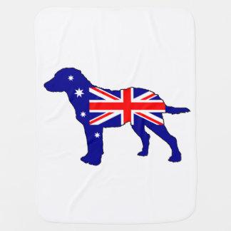 Cobertor Para Bebe Bandeira australiana - Retriever de baía de