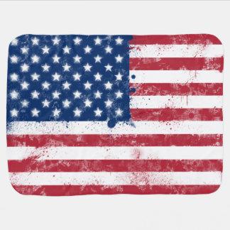 Cobertor Para Bebe Bandeira dos EUA