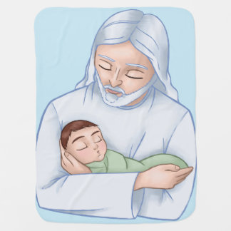 Cobertor Para Bebe Bebê celestial