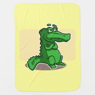 Cobertor Para Bebe Cobertura bonito do bebê de Croc