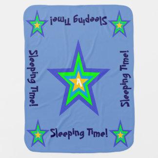 Cobertor Para Bebe Cobertura da estrela Design*4-Baby