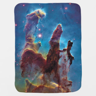 Cobertor Para Bebe Colunas da foto do espaço da nebulosa da criação
