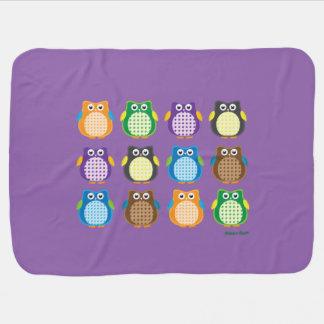 Cobertor Para Bebe Corujas modeladas