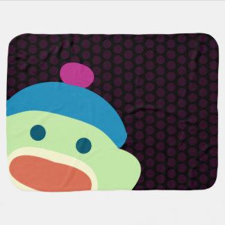 Cobertor Para Bebe Macaco da peúga