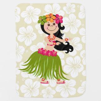 Cobertor Para Bebe Menina havaiana