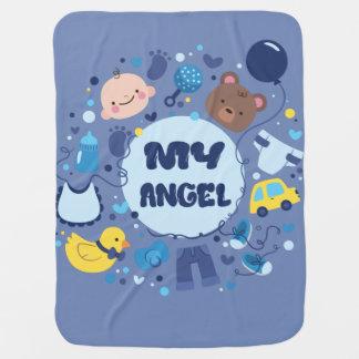 Cobertor Para Bebe Minha cobertura do bebê do anjo