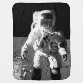 Cobertor Para Bebe Moonwalk de Apollo 12