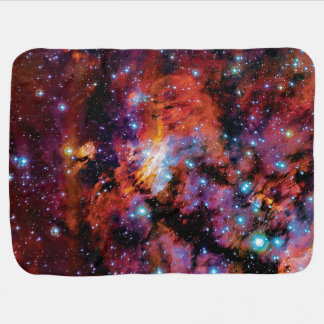 Cobertor Para Bebe Nebulosa do camarão de IC 4628 - foto colorida do
