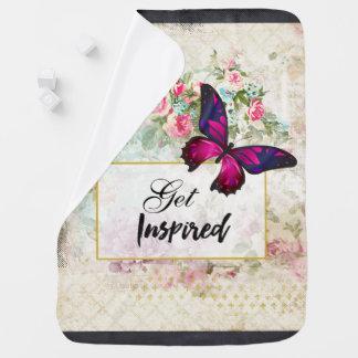 Cobertor Para Bebe Obtenha citações inspiradas & a borboleta