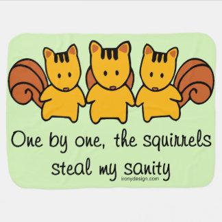 Cobertor Para Bebe Os esquilos roubam minha sanidade
