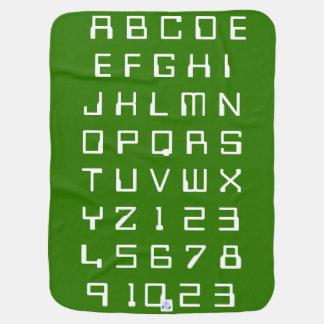 Cobertor Para Bebe Os números dos alfabetos das crianças do bebê dos
