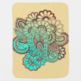 Cobertor Para Bebe Paisley Ornaments I + seu backgr. & ideias