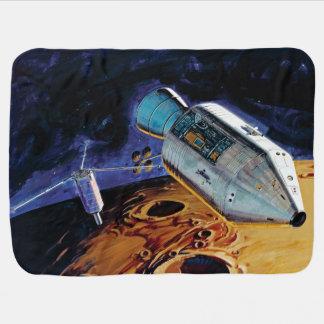 Cobertor Para Bebe Trabalhos de arte lunares da órbita da NASA Apollo