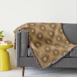 Cobertor Solteiro da flor