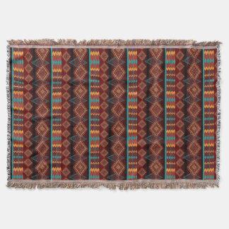 Cobertor teste padrão sem emenda do navajo étnico