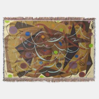 Cobertura do abstrato 7 manta
