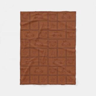cobertura do bar de chocolate do sugarparade cobertor de lã