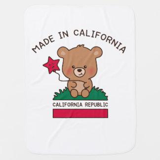 cobertura do bebê - Califórnia doce Manta De Bebe