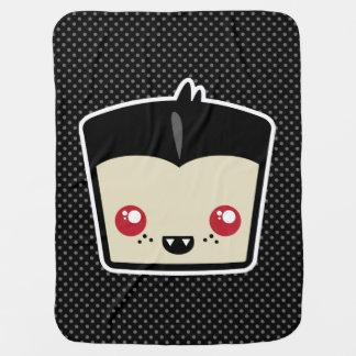 Cobertura do bebê de Kawaii Dracula Cobertor Para Bebe
