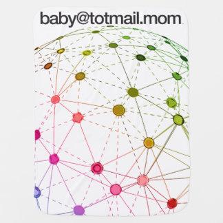 cobertura do Carrinho de criança-Carseat de Cobertores Para Bebe