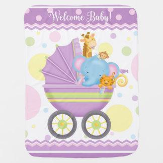 Cobertura do carrinho de criança de bebê manta de bebe