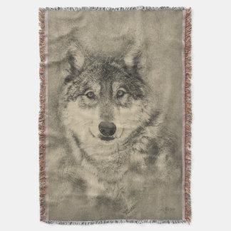 Cobertura do lance da ilustração do lápis do lobo manta