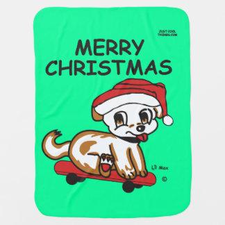 Cobertura do Natal Cobertor De Bebe