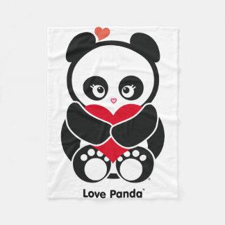 Cobertura do velo de Panda® do amor Cobertor De Lã