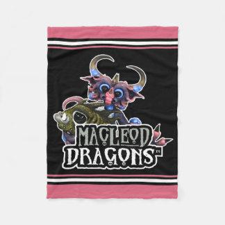 Cobertura do velo do dragão da DM Cuddlefish Cobertor De Lã
